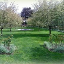 Les jardins de l'Hôpital Corentin Celton